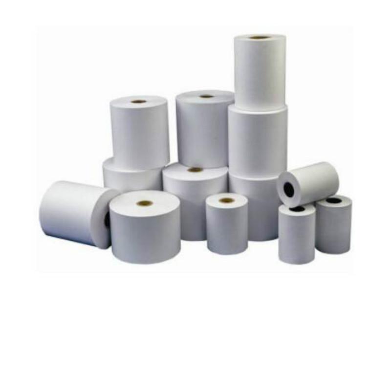 莱雅 80*80(常规)超级柜台/自助终端机/查询机热敏纸/热敏流水/热敏凭条/回单纸 白色 30卷/箱(单位:箱)