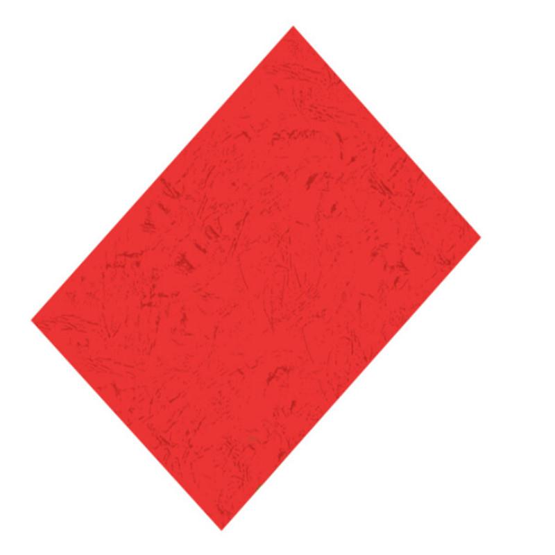 优玛仕皮纹纸A4/180G/100张/包(单位:包)大红色