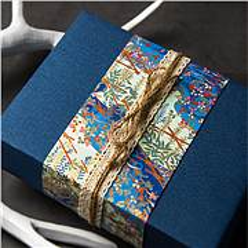 博采定制礼盒包装纸-亚麻布纹款78.7X109.2cm(张)