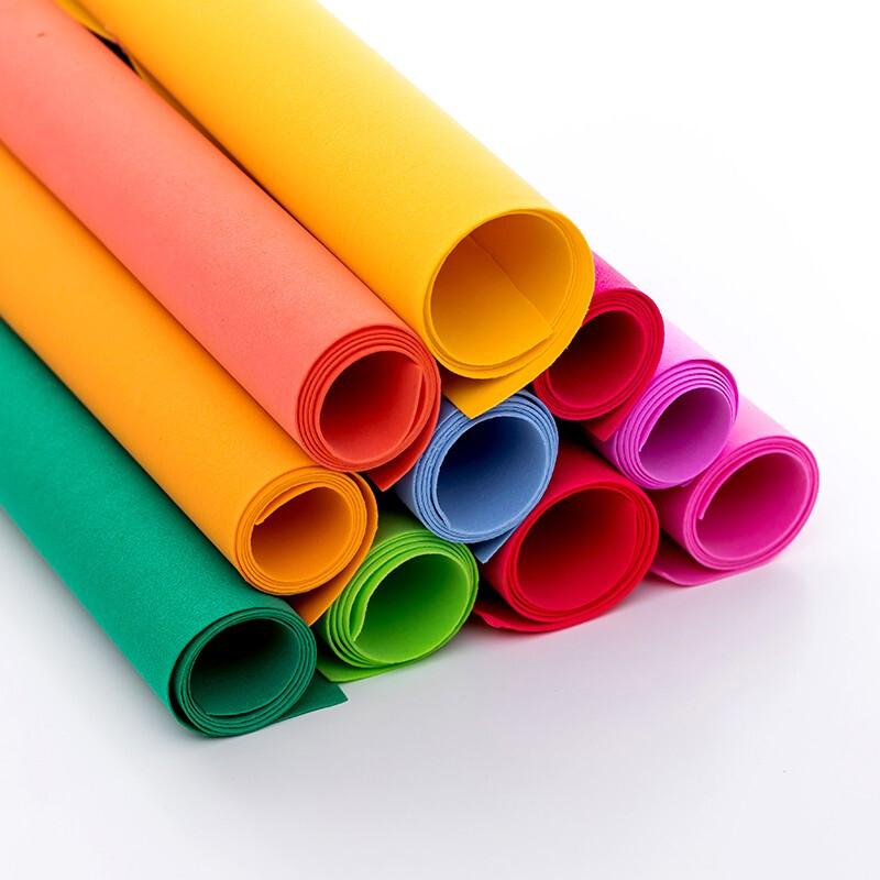 国产手工海绵纸50*90cm混色20张/包(单位:包)