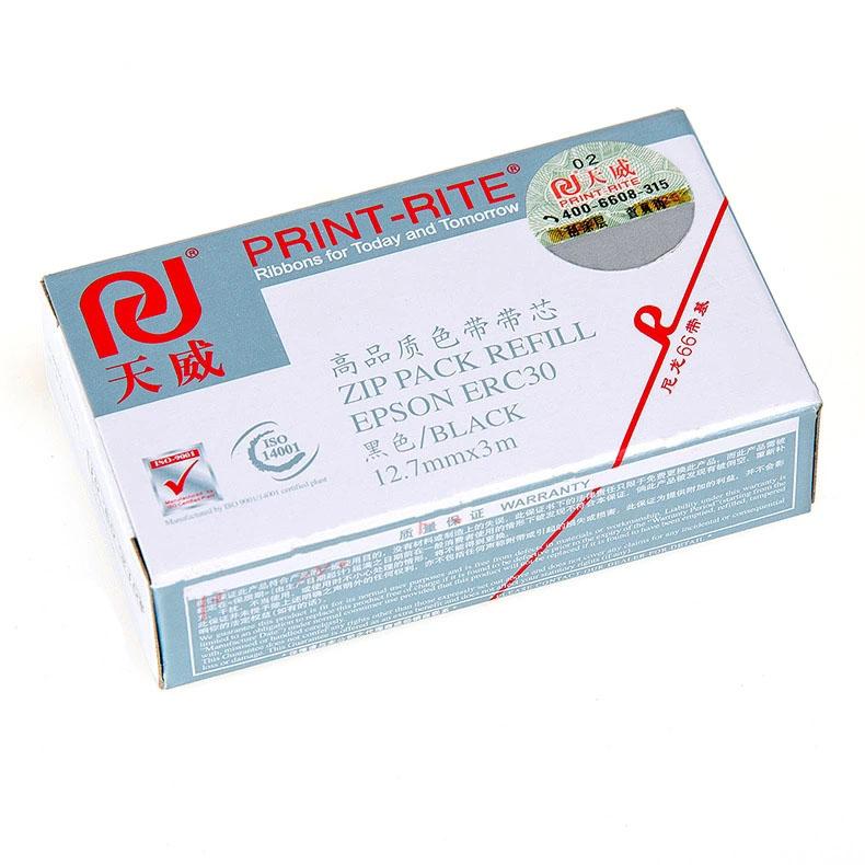 天威ERC30/34/38专业装色带芯黑色3米 RFR037BPRJ1 (根)