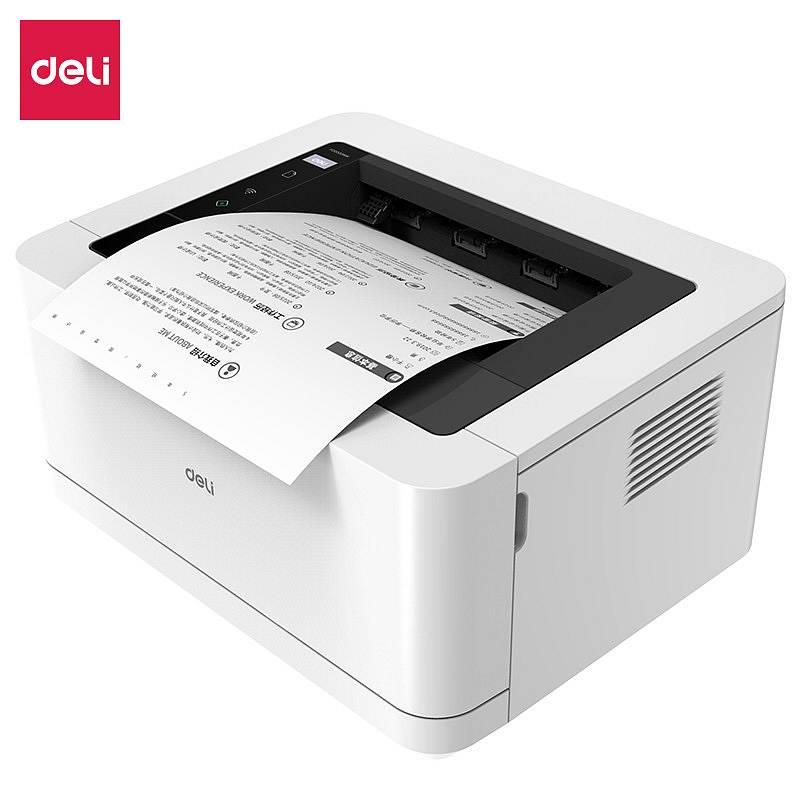 得力 P2000NW 黑白激光打印机(白色)(台)