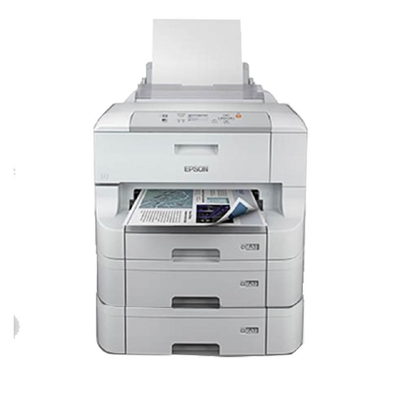 爱普生 WF-8093 A3+彩色商用墨仓式打印机加双纸盒+工作台 白 (单位:台)
