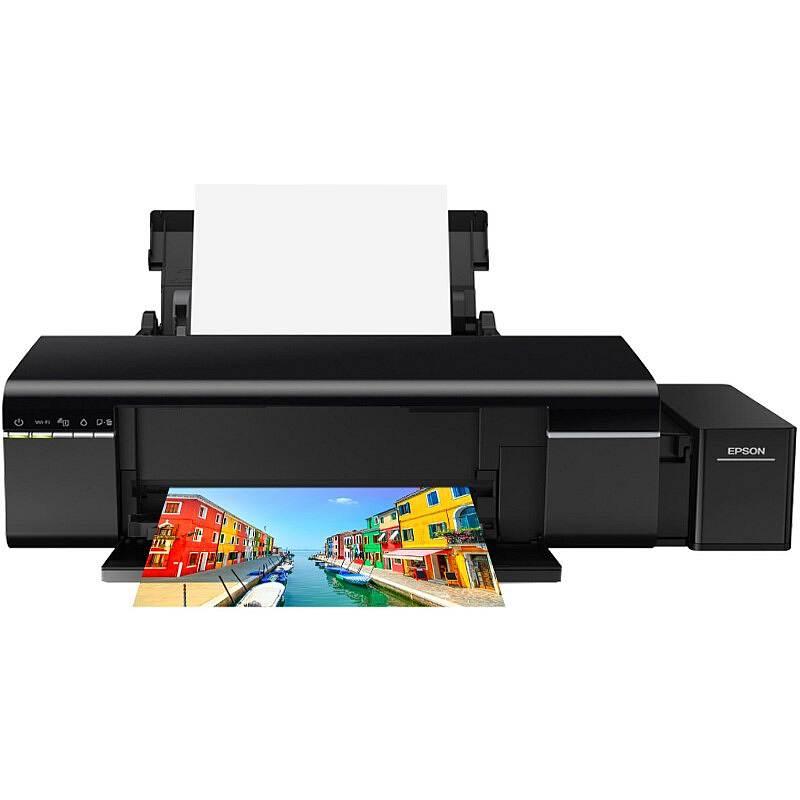 爱普生 EPSON L805 墨仓式6色照片打印机(台)