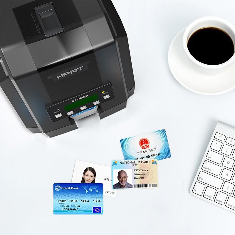 汉印 CP-D80 证卡打印机 (计价单位:台) 黑