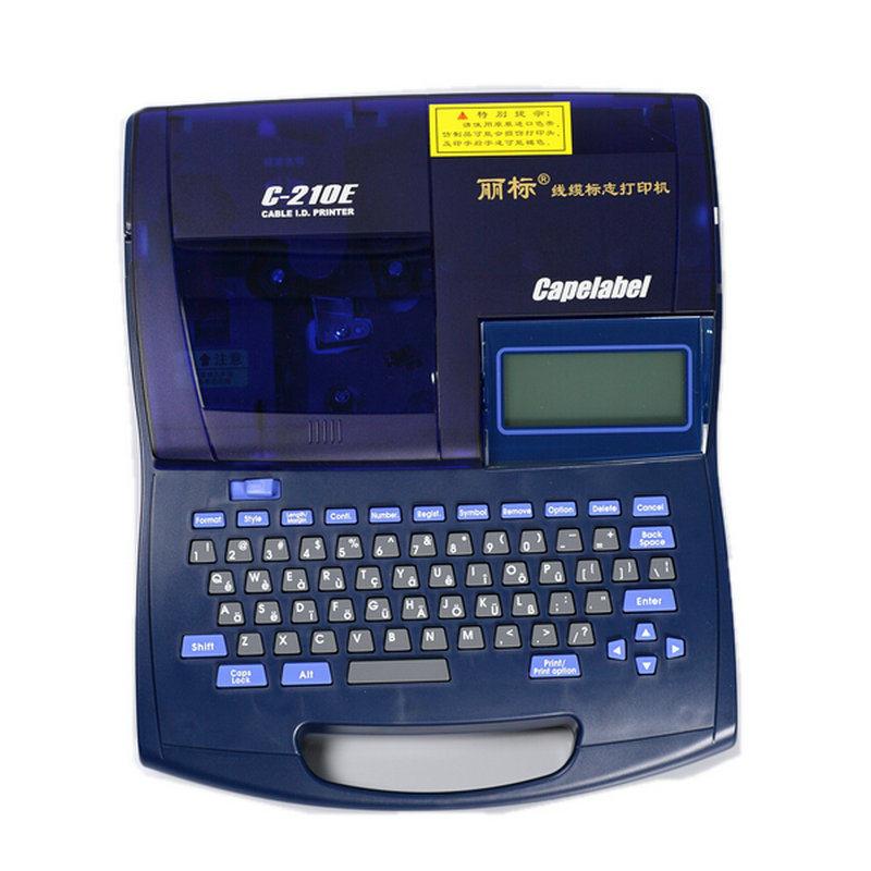凯普丽标 C-210E 线号打印机  (单位:台)