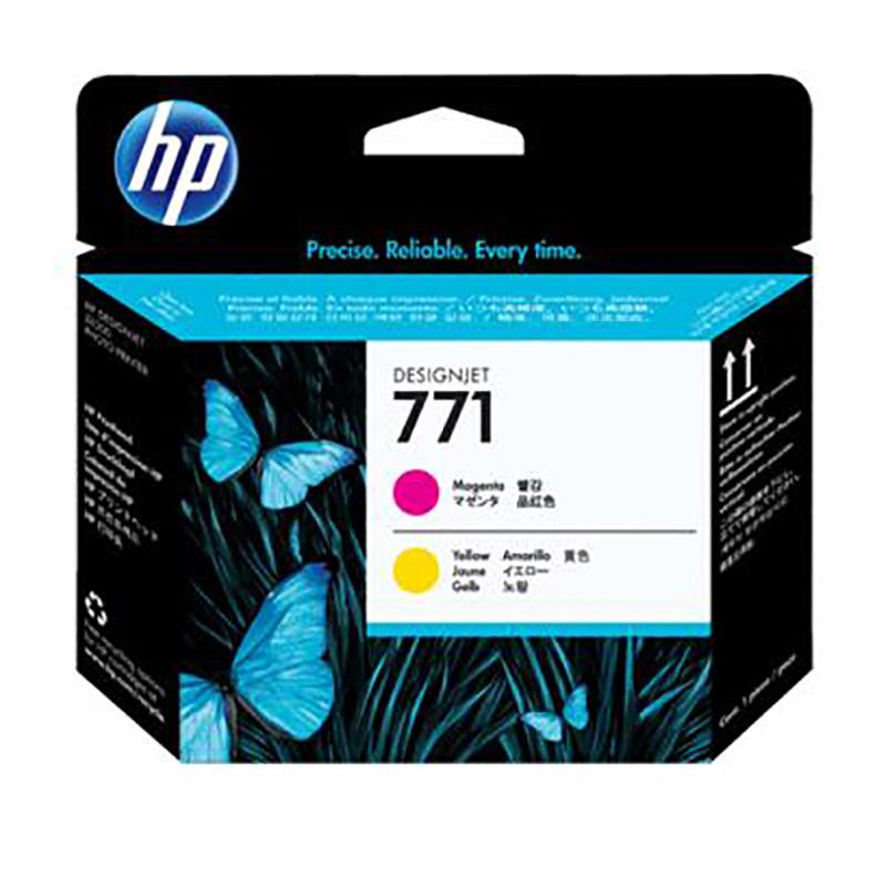惠普(HP)CE018A品红与黄色打印头741(单位:个)