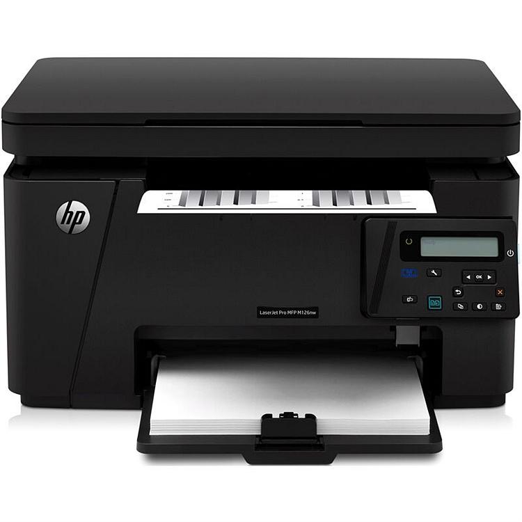 惠普(HP) M126nw 黑白激光一体机A4(打印/复印/扫描)(台)
