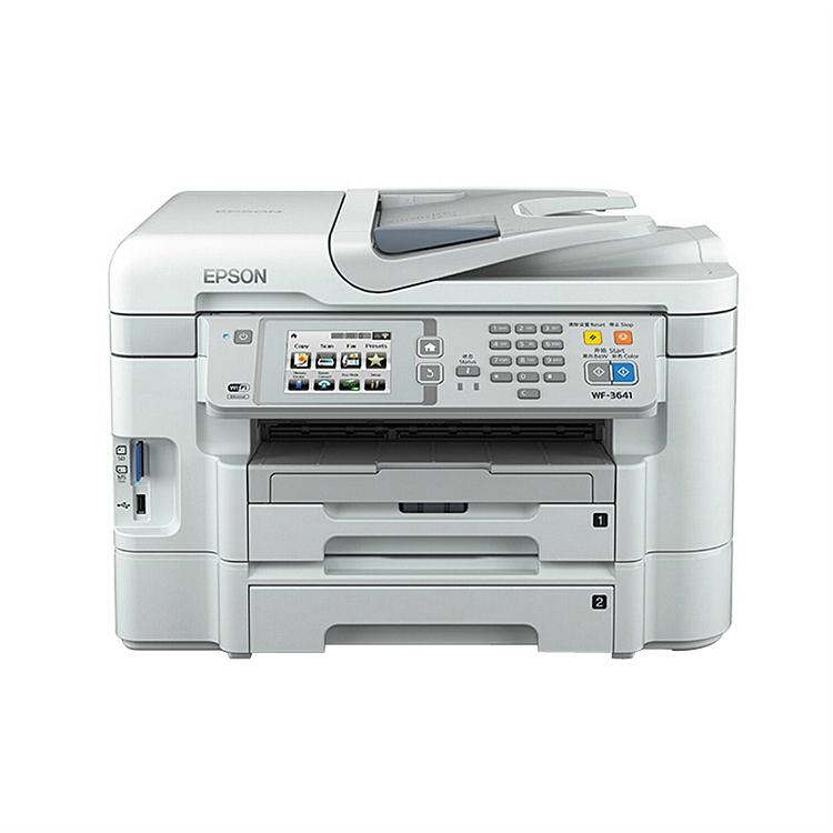 爱普生 WF-3641 彩色喷墨多功能一体机A4(打印/复印/扫描/传真)(台)
