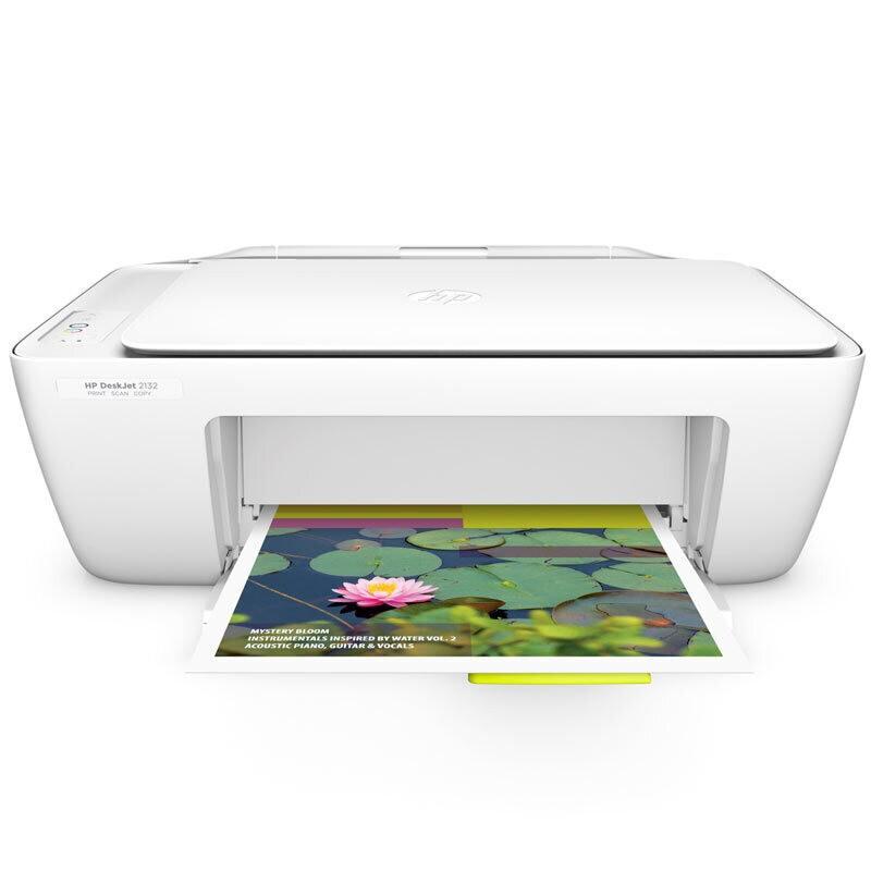 惠普(HP) DJ 2132 彩色喷墨一体机A4(打印/复印/扫描)(台)