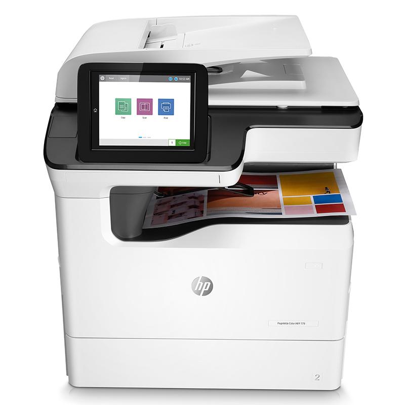 惠普(HP)PageWide Pro 779dn 彩色页宽复合机A3(台)