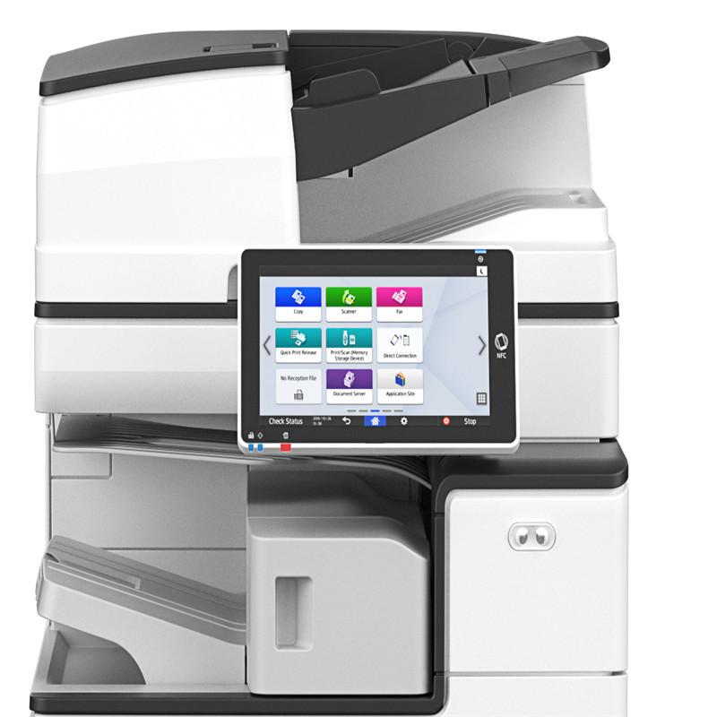 理光IM C2500-彩色低速数码复合机主机(含双层纸盒)+双面输稿器+底柜(台)