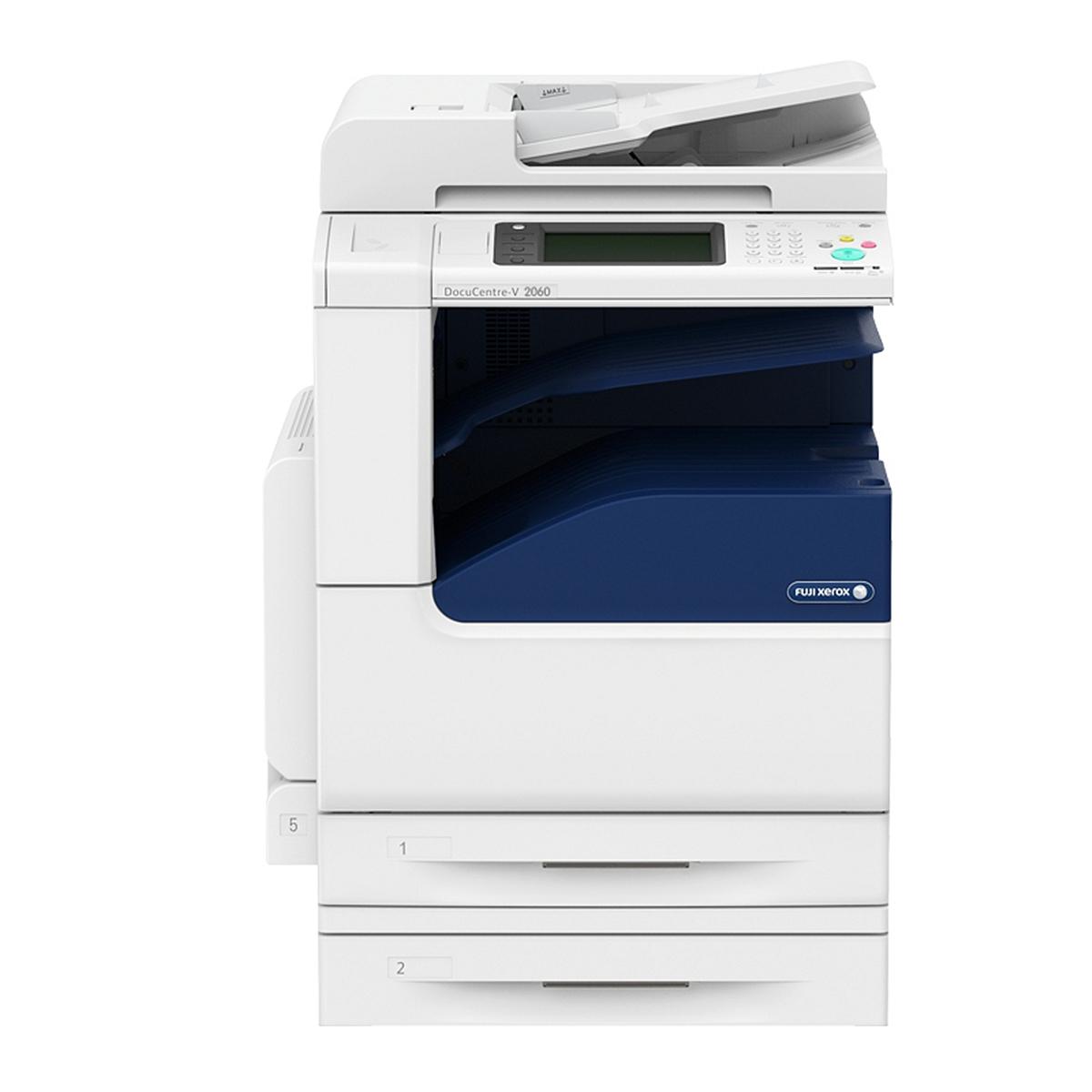 富士施乐 DC-V 2060 CPS  4Tray黑白复印机标配(双面输稿器、双面器、四纸盒)(单位:台)