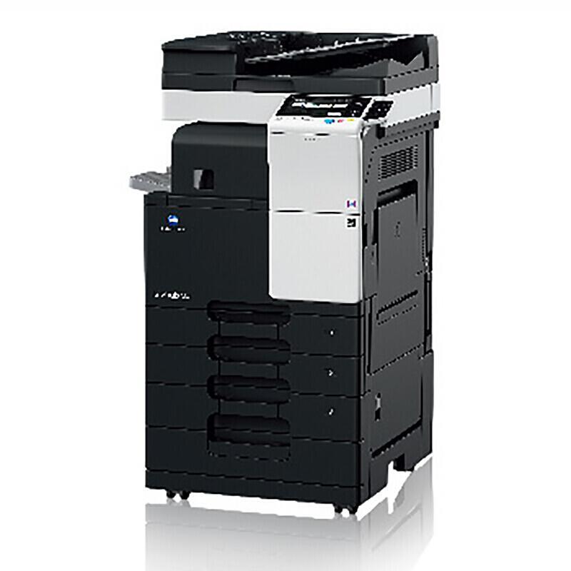 柯尼卡美能达(KONICA MINOLTA) Bizhub 367标配含主机+双面自动输稿器+双面单元+四纸盒+鞍式装订器 A3黑白 激光多功能复合机 (计价单位:台)