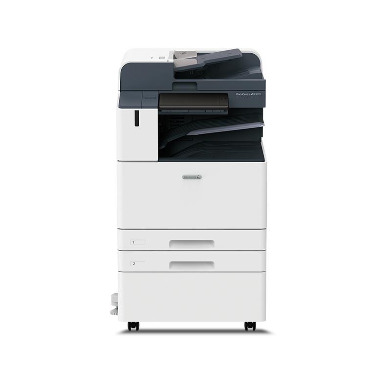富士施乐DC-VII C3372 CPS 彩色中速复印机 双纸盒+输稿器+工作台(白色)(台)