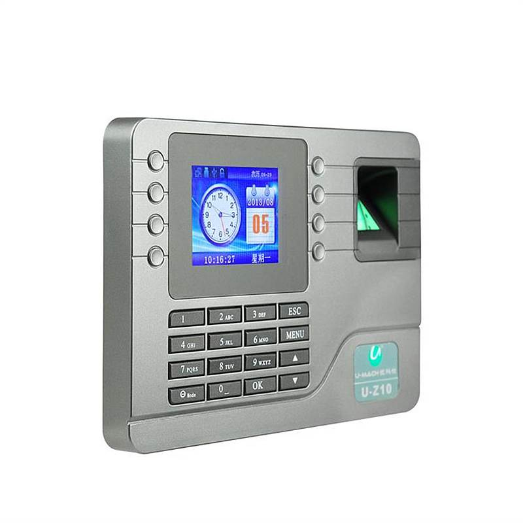 优玛仕 U-Z10 指纹考勤机 指纹登记容量:2000枚(单位:台)
