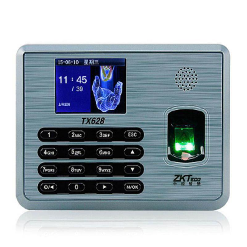 中控TX628中控智慧考勤机(单加刷卡模块)黑(1只装)(只)
