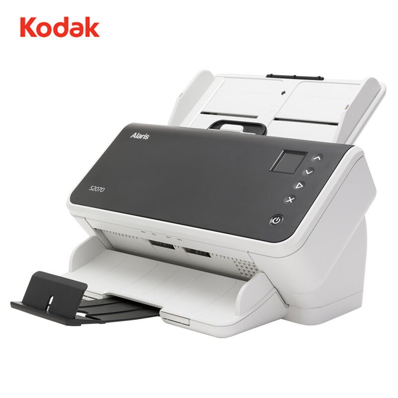 柯达(kodak) S2070扫描仪a4 高速双面自动 文件身份证发票扫描 S2070(70页/140面)(单位:台)