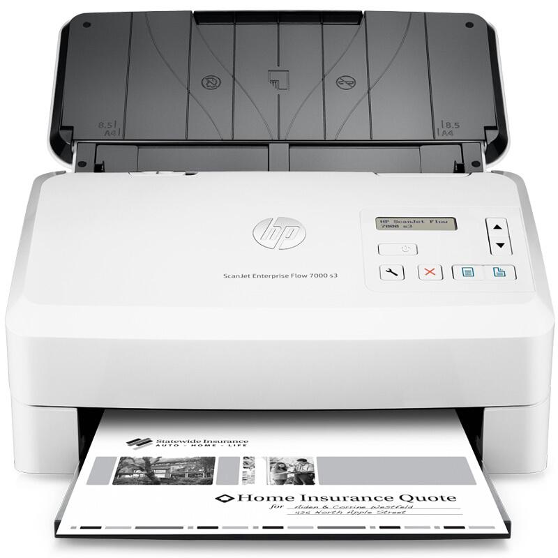 惠普(HP)  7000 s3 馈纸式扫描仪A4(台)