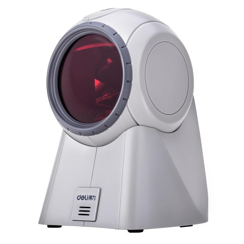 得力 14884 条码扫描器  (白色)  (单位:个)