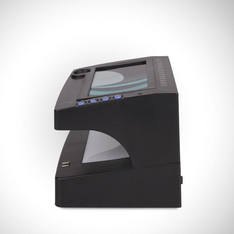 融信Y-131多功能存折票据鉴别仪黑色BJ-1009,紫光长波/紫光短波/放大镜/白光透视/磁墨检验,195*145*127mm(台)