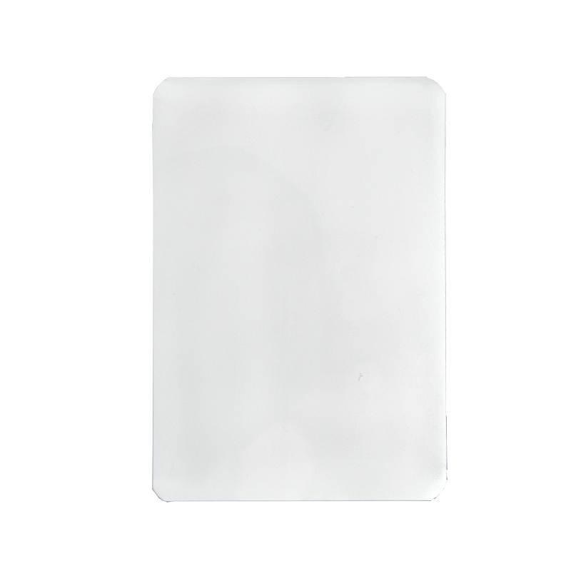 优玛仕3寸7C塑封膜透明白色100套/包(包)