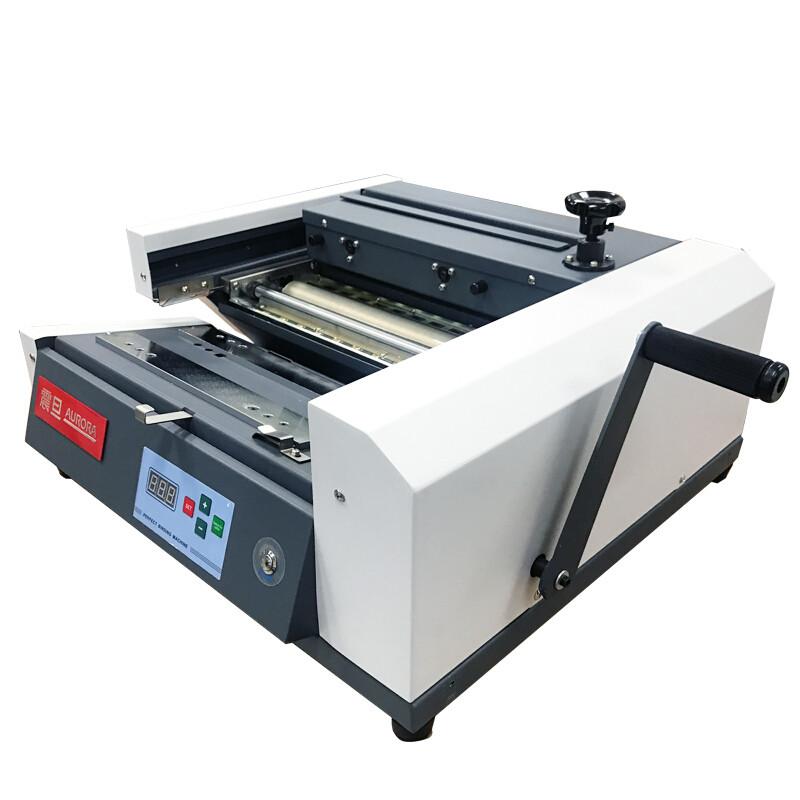 震旦 AM380桌面式半自动无线胶装机 热熔装订机 文件标书装订机(台)