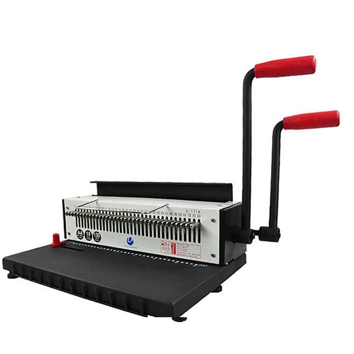 优玛仕 U-T71 铁圈装订机财务装订用品 420*350*230mm (单位:台)