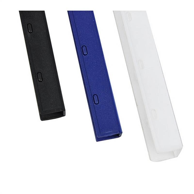 优玛仕 17.5mm 夹条装订条 100支/盒 (单位:盒) 蓝色