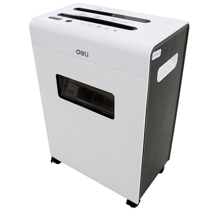 得力 9903 碎纸机 370x235x545mm (单位:台) 白