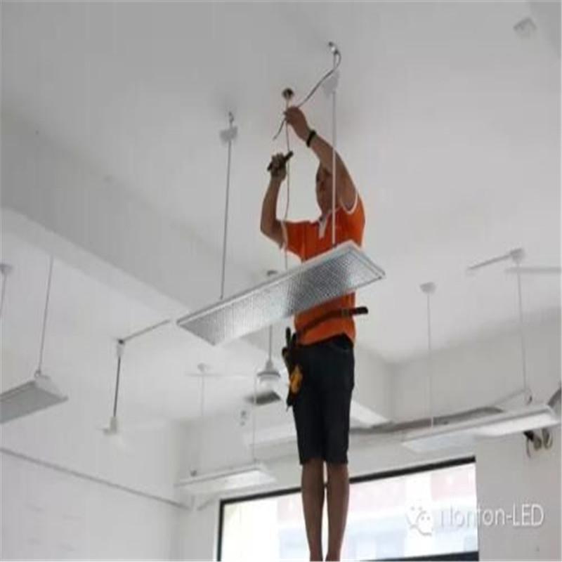 黑板灯安装设备电器安装维修/设备调试(单位:个)