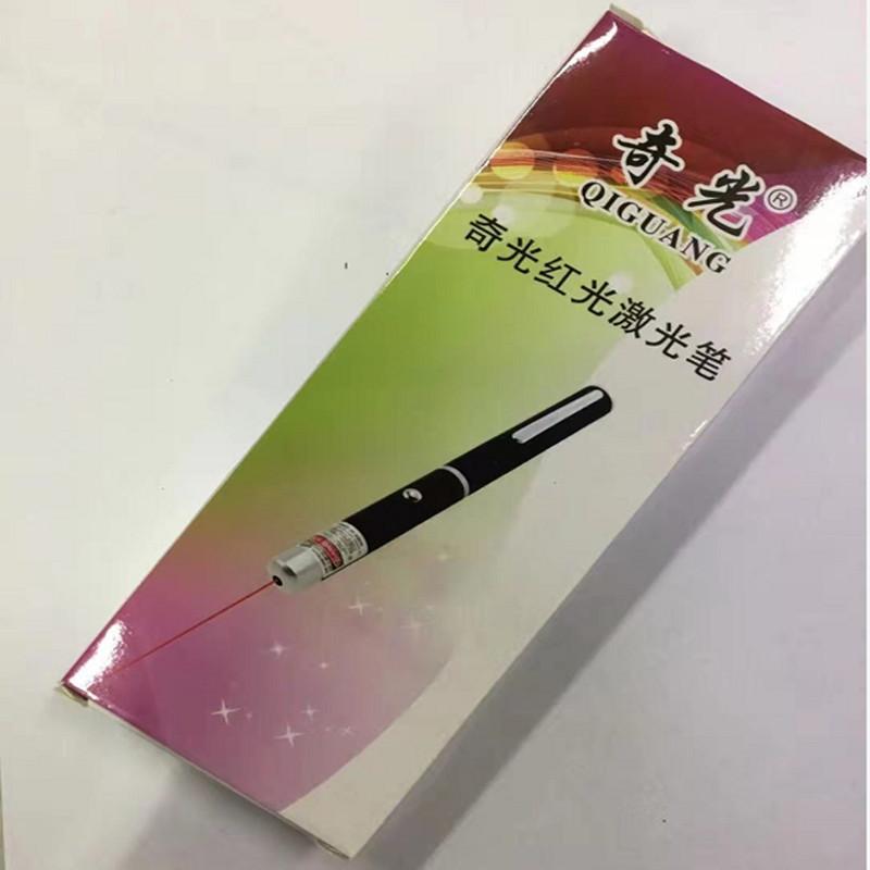 奇光红光强光教学指示会议工程激光笔7号电池7400黑色(支)(北京专供)