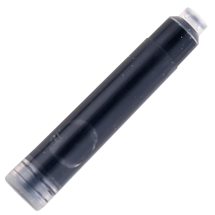 得力 S633 钢笔墨囊 5支/盒/24/43 (单位:盒) 黑色
