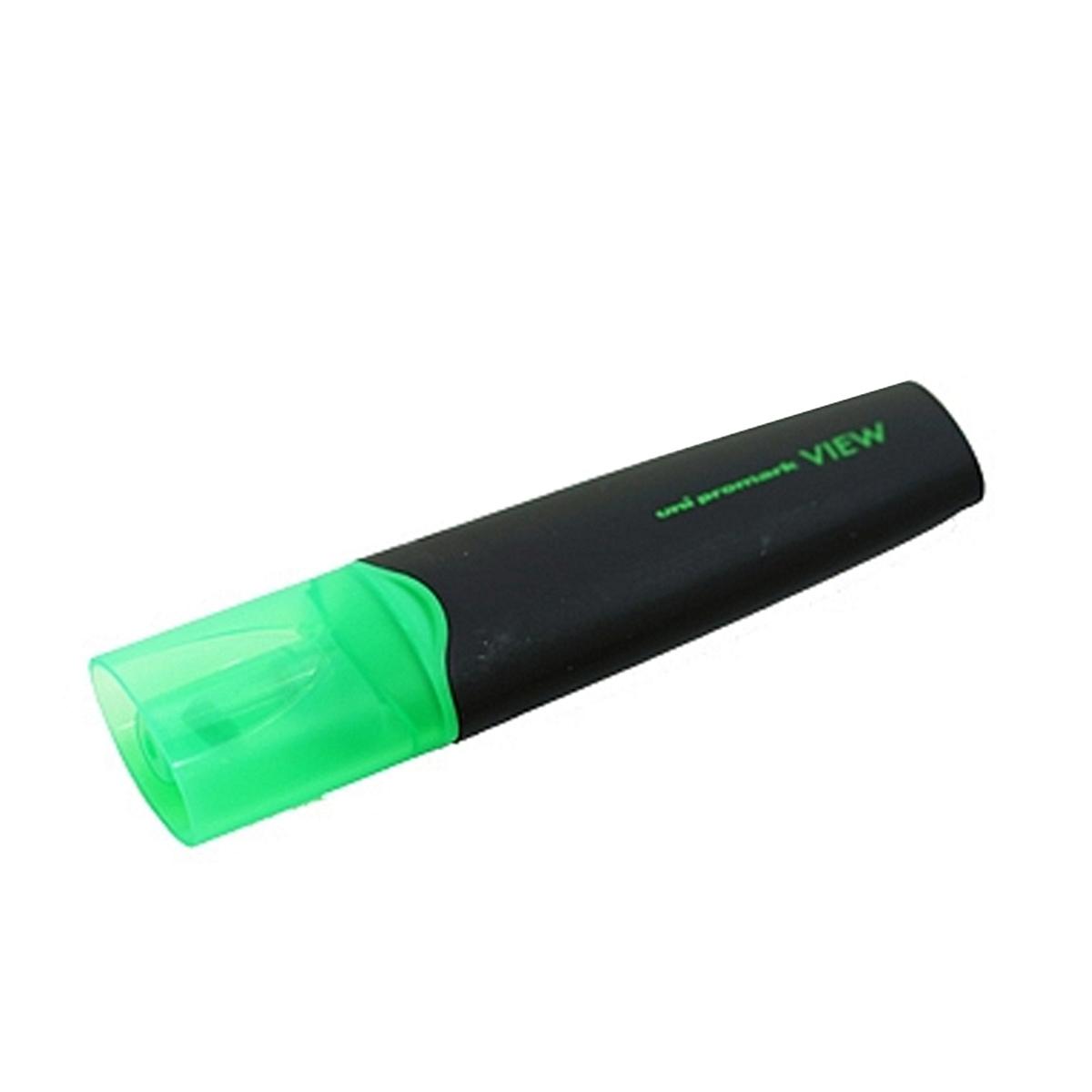 三菱 USP-200 4.0mm荧光笔 12支/盒(单位:支) 黄色