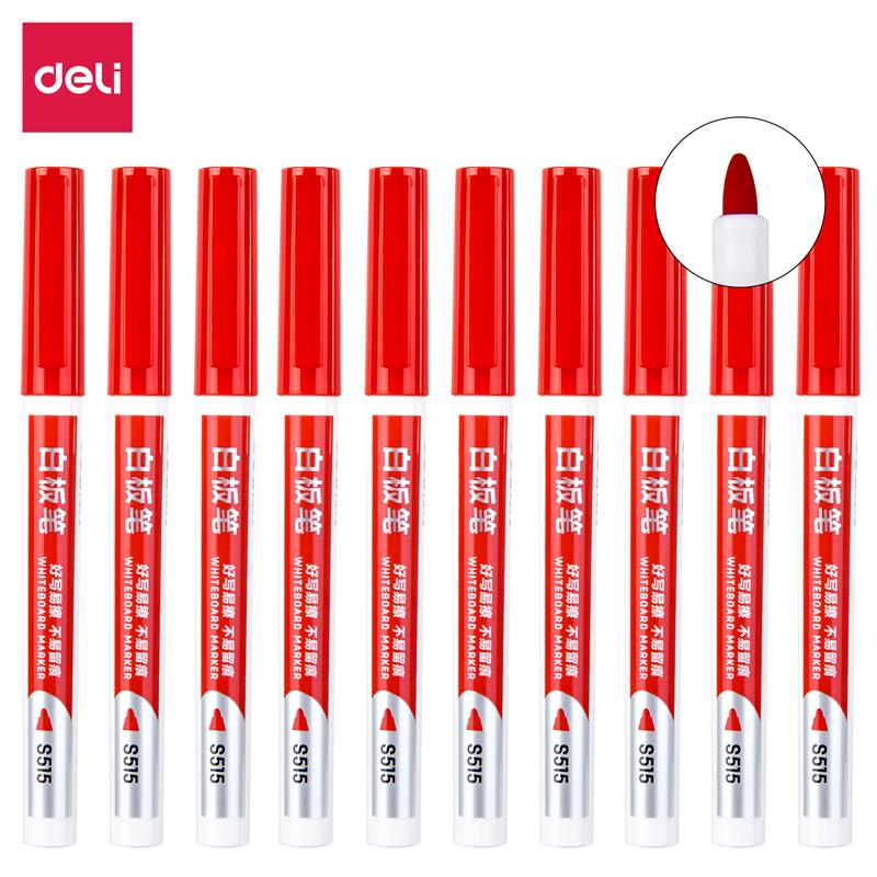 得力(deli)S515白板笔(单位:支)红