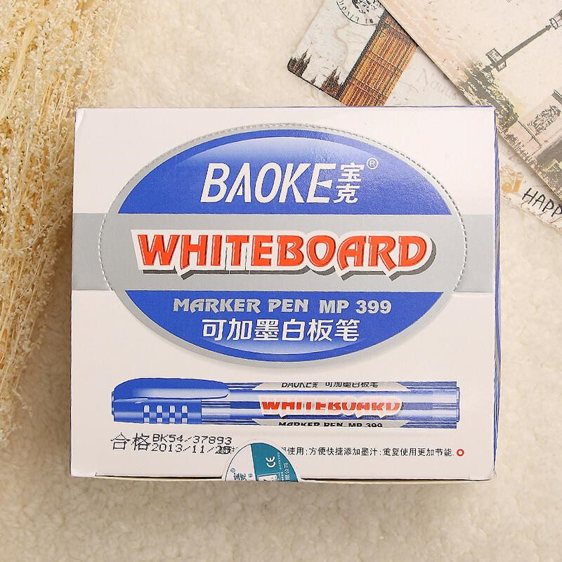 宝克(BAOKE)MP399A可加墨水白板笔(单位:支)红色