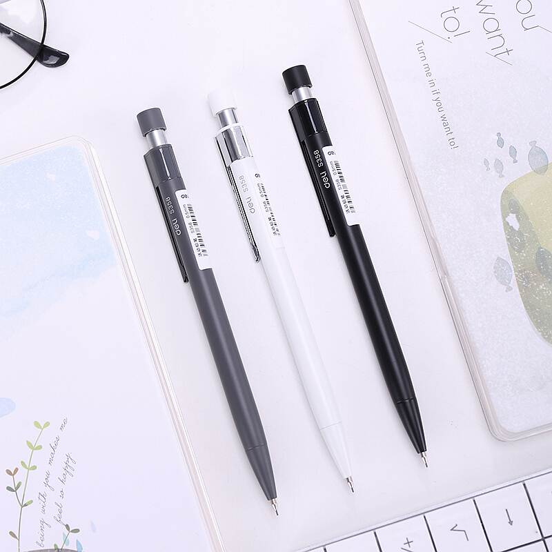 得力(deli)S358金属活动铅笔0.5mm(单位:支)混色