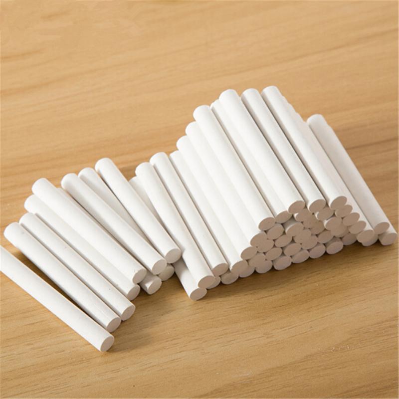 博采无粉尘塑光白色粉笔黑板报学校教学用安全粉笔一箱/50盒(箱)