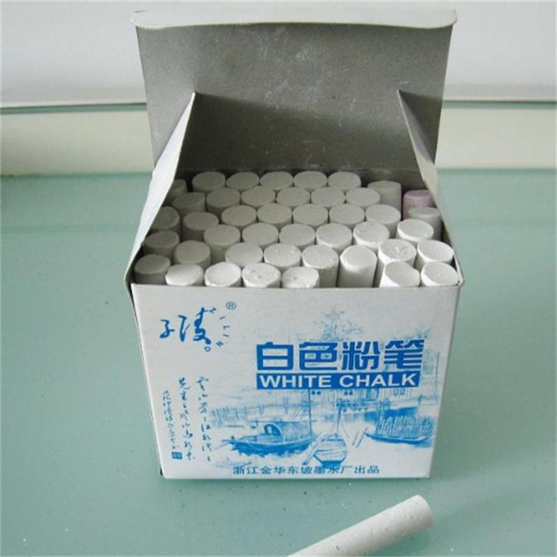博采 7.5cm长 40支/盒 白色粉笔(单位:盒)