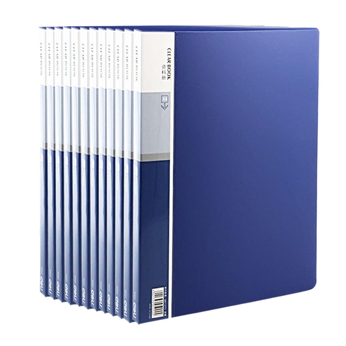 得力 5002 20页资料册 (单位:本) 蓝
