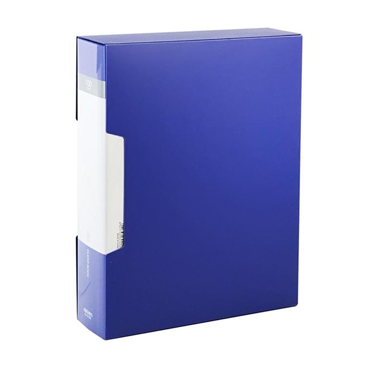 得力 5109 100页资料册 (单位:本) 蓝
