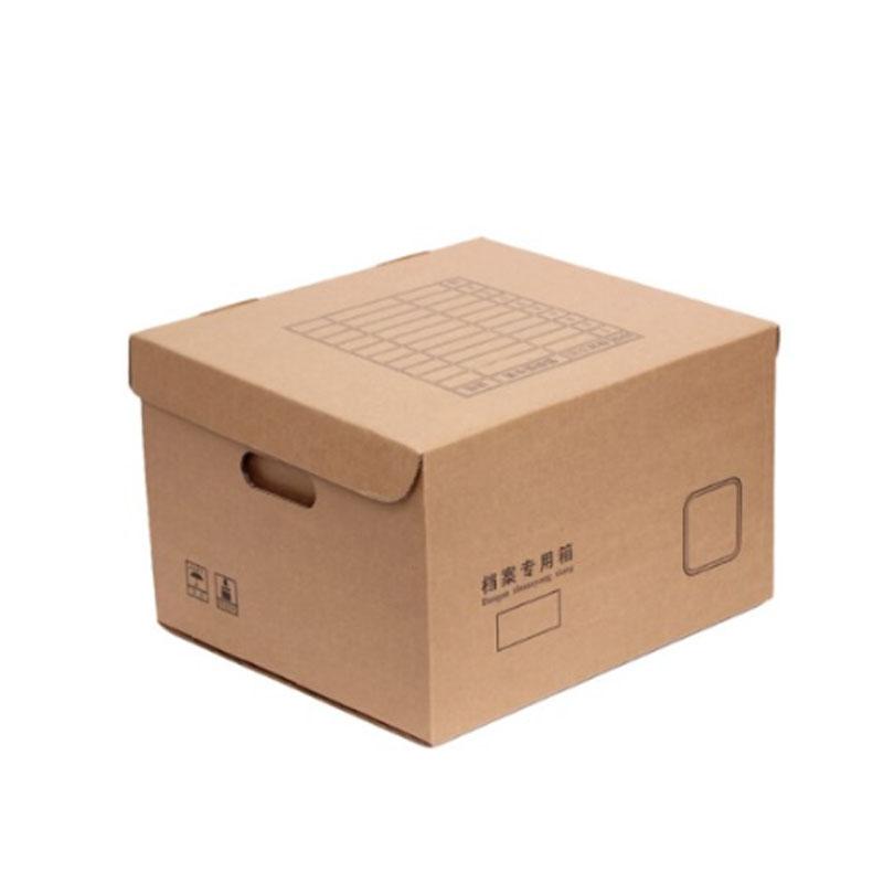 国产  黄色 415*325*300mm 档案箱(单位:个)