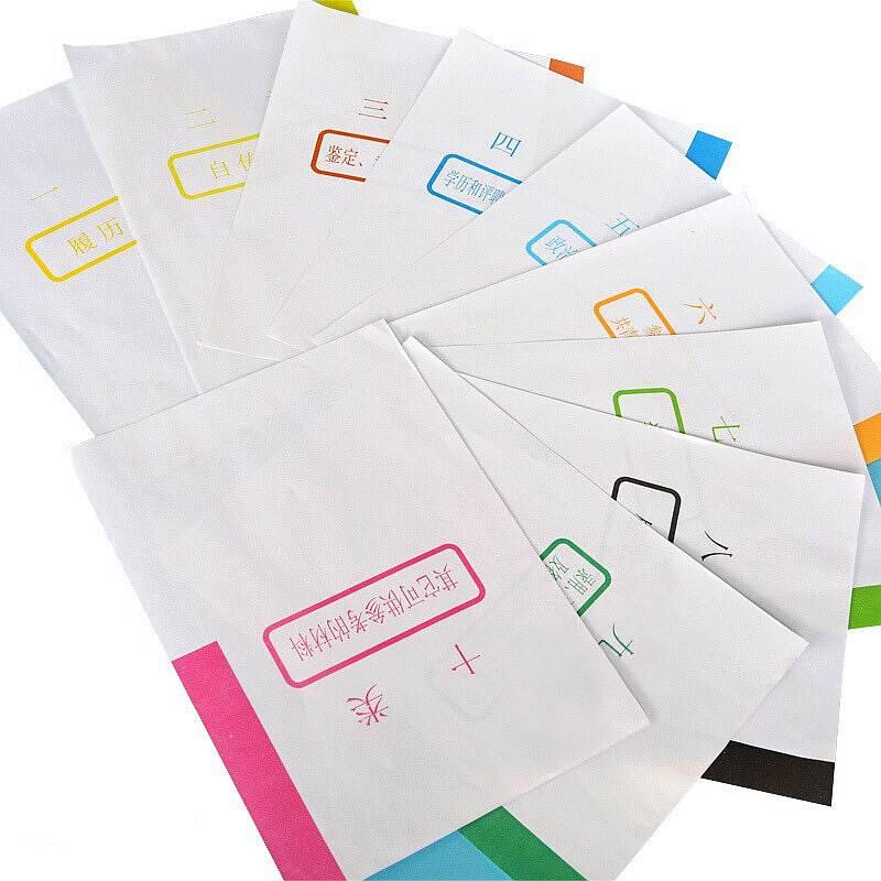 国产分类纸   10张/套   100套/份(单位:份)