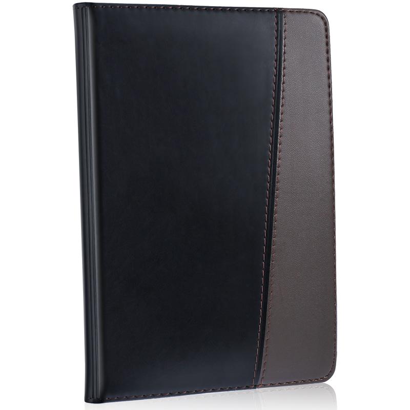 得力7912皮面笔记本(黑)-120页-32K(本)