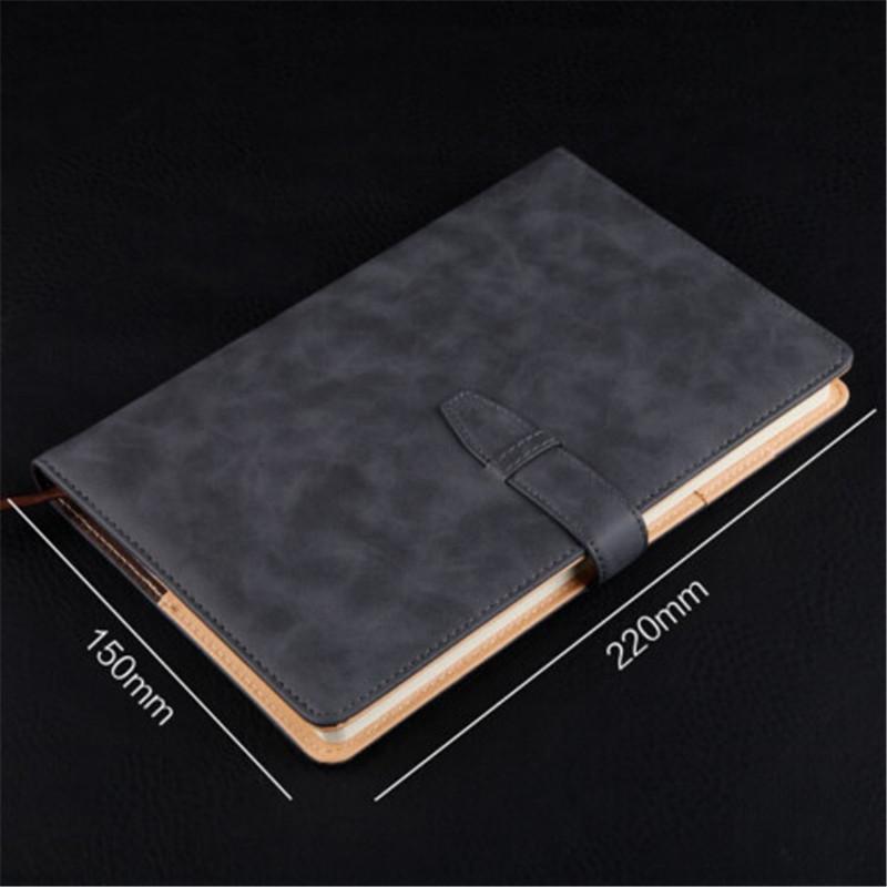 信发TB-B009 简约商务笔记本子平装带扣A5(本)