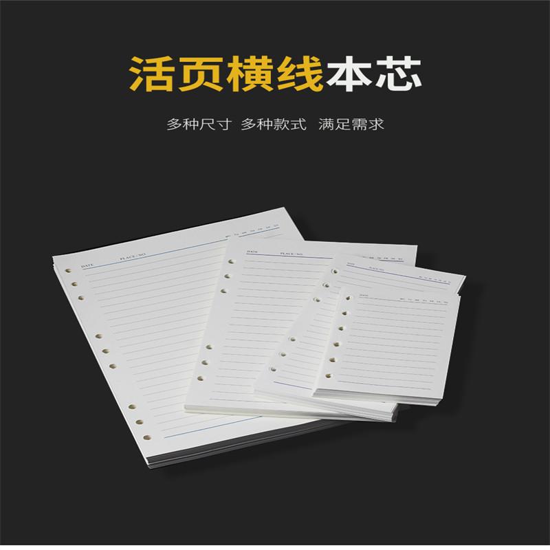 国产 25k(A5)空白款活页内芯(本)