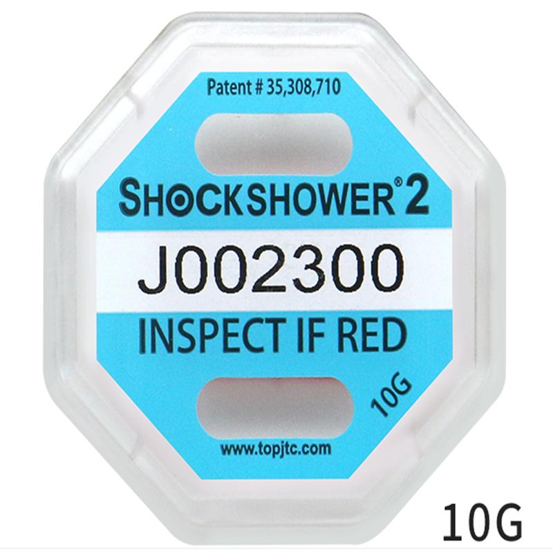 京小标 shockwatch2代 防震标签 防震动冲击指示器标签贴25G 50个(单位:个)