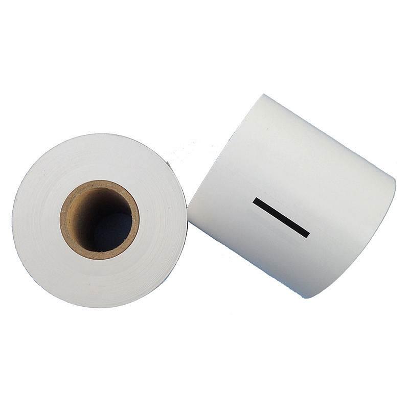 莱雅105*1600新北洋身份证证卡复印机纸白色25卷/箱(箱)