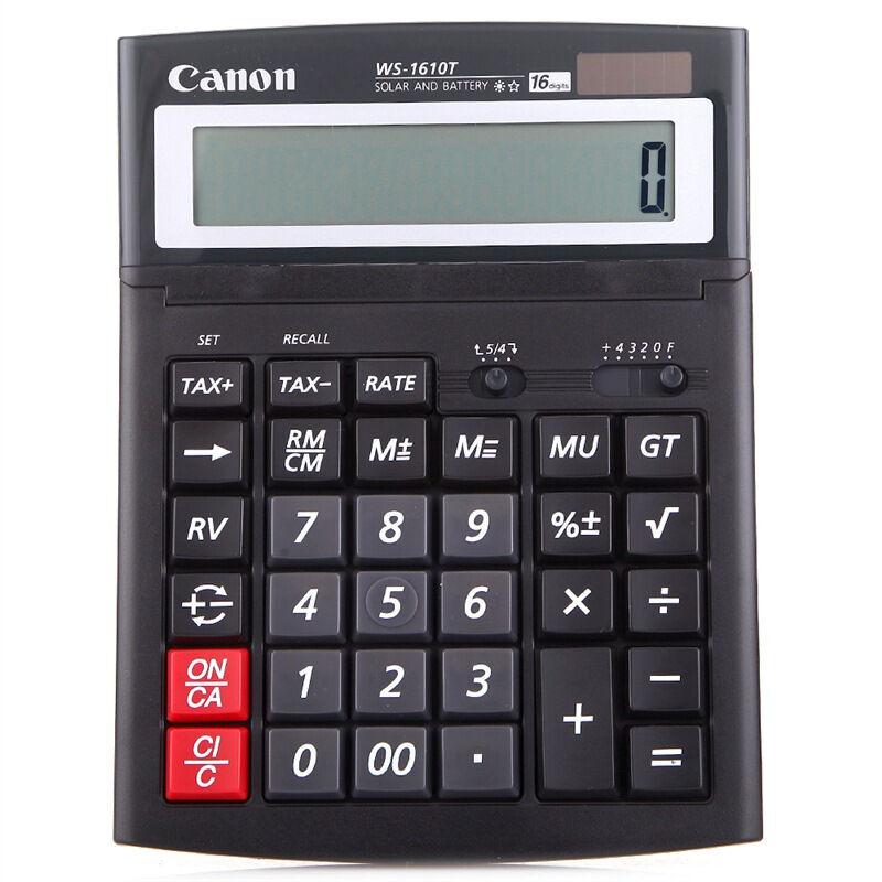 佳能WS-1610T计算器(个)