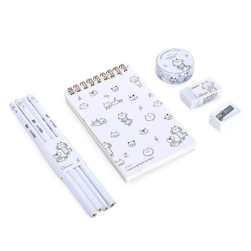 得力(deli)68884A文具套装(单位:袋)白
